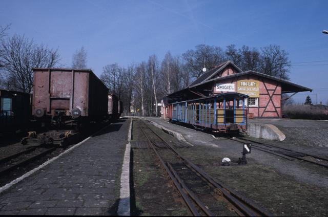 Smigiel station, March 2009